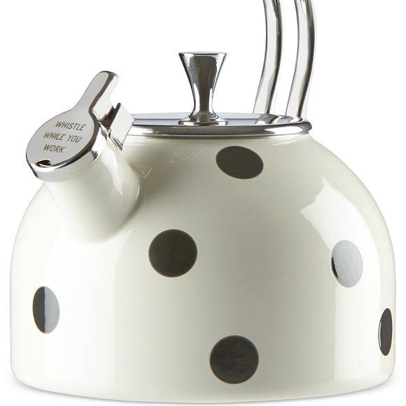 Kate Spade All in Good Taste Deco Dot Tea Pot